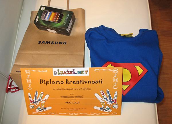 Dijaski.net 6. LiT natečaj - diplome kreativnosti